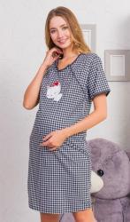 Dámska noční košile mateřská Vienetta Secret Koťátko