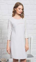 Dámska noční košile s tříčtvrtečním rukávom Vienetta Secret Cindy