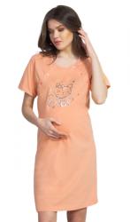 Dámská noční košile Vienetta Secret Kočka mateřská