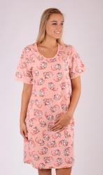 Dámská noční košile Vienetta Secret Méďa s polštářem-mateřská