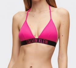 Dámska plavková podprsenka Calvin Klein KW00883 růžová