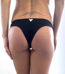 Dámska plavkové brazilky Guess 02O22 čierna