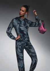Dámska športová mikina BasBleu Athena top multicolor