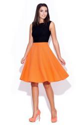 Dámska sukňa K055 oranžová