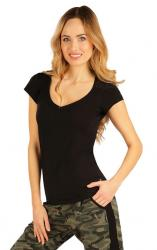 Dámské černé triko Litex 99592