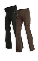 Dámske dlhé tehotenské nohavice Litex 99526