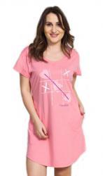 Dámske domáce šaty s krátkym rukávom Vienetta Secret Sylva