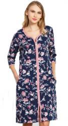 Dámske domáce šaty s trojštvrťovým rukávom Vienetta Secret Alena