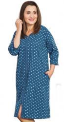 Dámske domáce šaty s trojštvrťovým rukávom Vienetta Secret Srdce