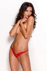 Dámske erotické tanga Anais Ossi červené