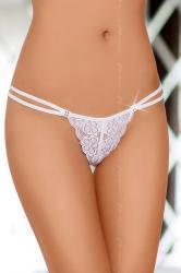 Dámske erotické tangá Softline collection 2014 biele