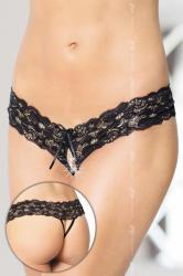 Dámske erotické tangá Softline collection 2456 čierne