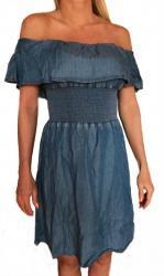 Dámske jeansové šaty Guess O82H02