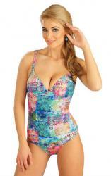 Dámske jednodielne plavky s košíčkami Litex 52177