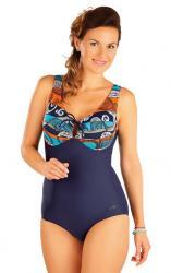 Dámske jednodielne plavky s kosticami Litex 57356