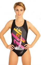 Dámske jednodielne športové plavky Litex 52498