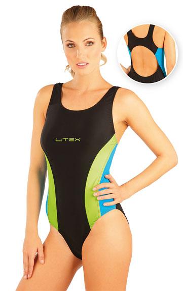 Dámske jednodielne športové plavky Litex 88370 - Litex (Teplákové ... c4d3276cb28