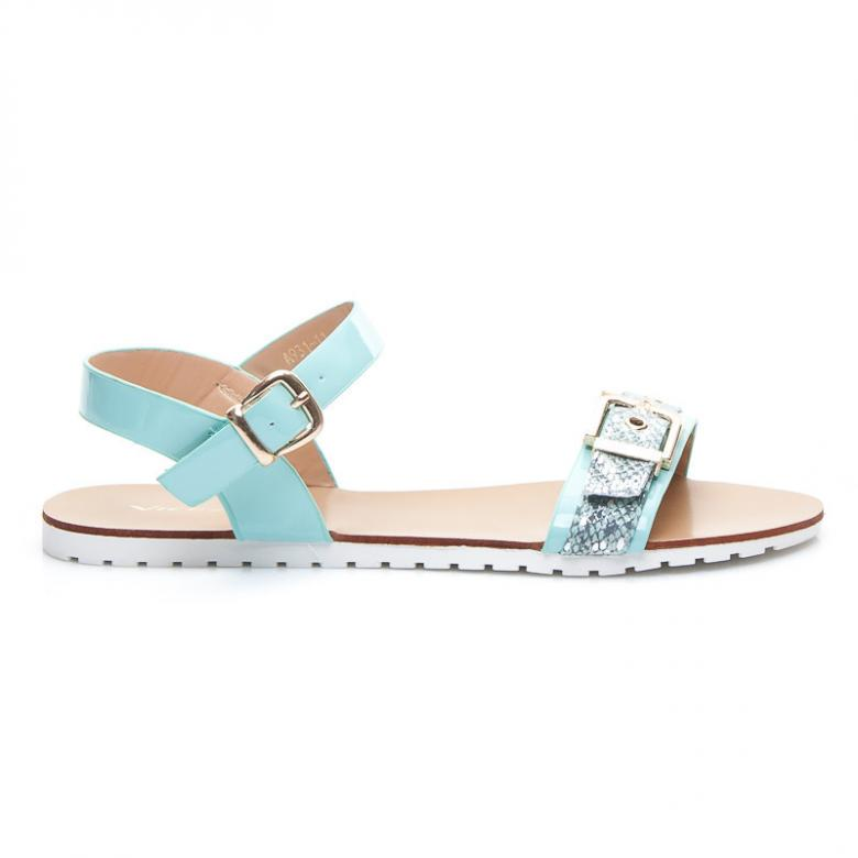 b0e6111142a3 Otázky k produktu Dámske modré sandále Vices A931BL - (Tipy na ...