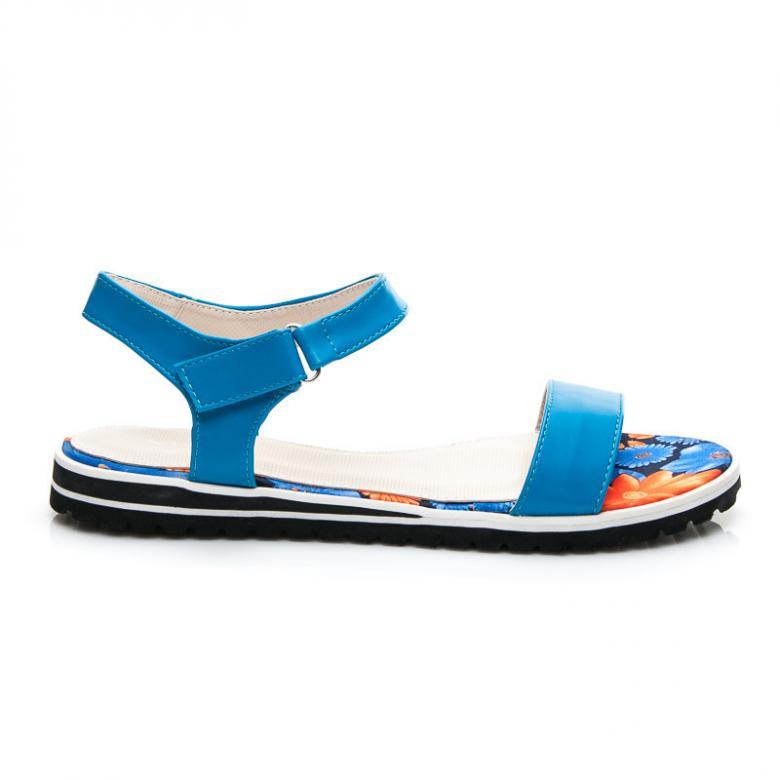 78006bfe04bb Otázky k produktu Dámske modré sandále Vices X788BL - (Tipy na ...