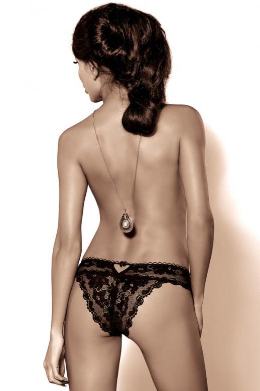 e167f9c08f0f Dámske nohavičky ROZA Madam čierne - ROZA (Klasické