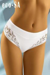Dámske nohavičky Wolbar Eco-Sa biele