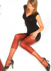 Dámske pančuchové nohavice Elite Exclusive - vzor legíny so vzorom