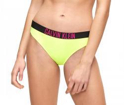 Dámske plavky Calvin Klein KW01050 CLASSIC BIKINI neon zelená