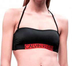 Dámske plavky Calvin Klein KW0KW00552 podprsenka čierna