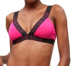 Dámske plavky Calvin Klein KW0KW00579 podprsenka ružová