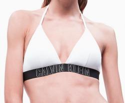 Dámske plavky Calvin Klein KW0KW00592 podprsenka biela