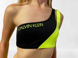 Dámske plavky Calvin Klein KW0KW00885 ONE SHOULDER BANDEAU
