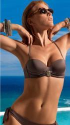 Dámske plavky Lormar GOLD fascie-korzetové podprsenka