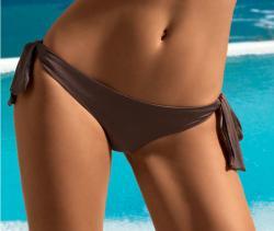 Dámske plavky Lormar GOLD SLIP lacca-zaväzovacie nohavičky