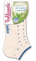 Dámske ponožky Bellinda 496807 BAMBUS IN-SHOE