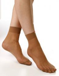 Dámske ponožky EVONA STRIEBRO + ALOE VERA - 2 páry