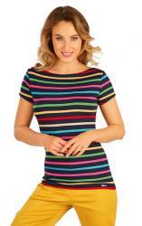 Dámske pruhované tričko Litex 5B037