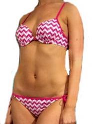 Dámske push-up plavky Calvin Klein 1013 + 1014
