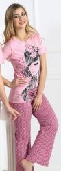 Dámske pyžamo dlhé CAPRICE 21188
