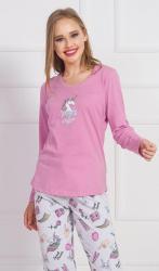 Dámske pyžamo dlouhé Vienetta Secret Dreams