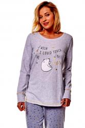 Dámske pyžamo Esotiq 36160 Mimi 09x graphite