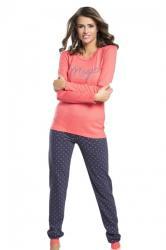 Dámske pyžamo Italian Fashion Alezja ra spberry