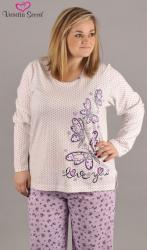 Dámske pyžamo nadmer Vienetta Secret Motýľ Love