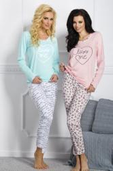 Dámske pyžamo TARO 211 Gabi pink