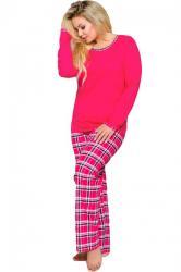 Dámske pyžamo Taro Ela 714 červené