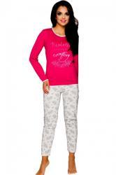 Dámske pyžamo Taro Gabi 211 raspberry