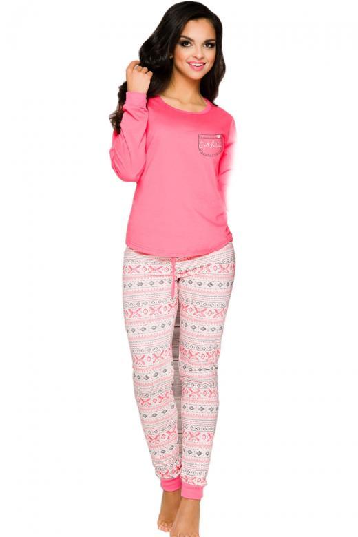 f19926d5df0b Dámske pyžamo TARO Nora 2124 ružové - TARO (Dámske pyžamá - Pyžamá ...