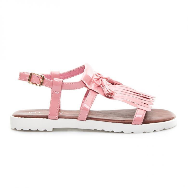 a1e1908c5ffe Dámske ružové sandále L. DAY L-012P - (Dámska obuv)