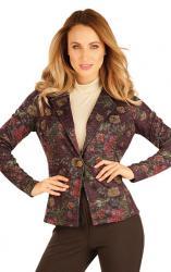 Dámske sako s dlhým rukávom Litex 60030