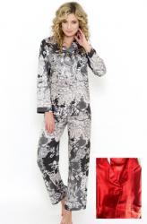 Dámske saténové pyžamo FOLLIE Rosanne