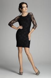 Dámske šaty FIGL M076 čierne
